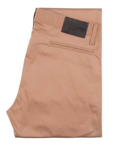 Stretch Twill Slim Chino / Naked & Famous / Beige