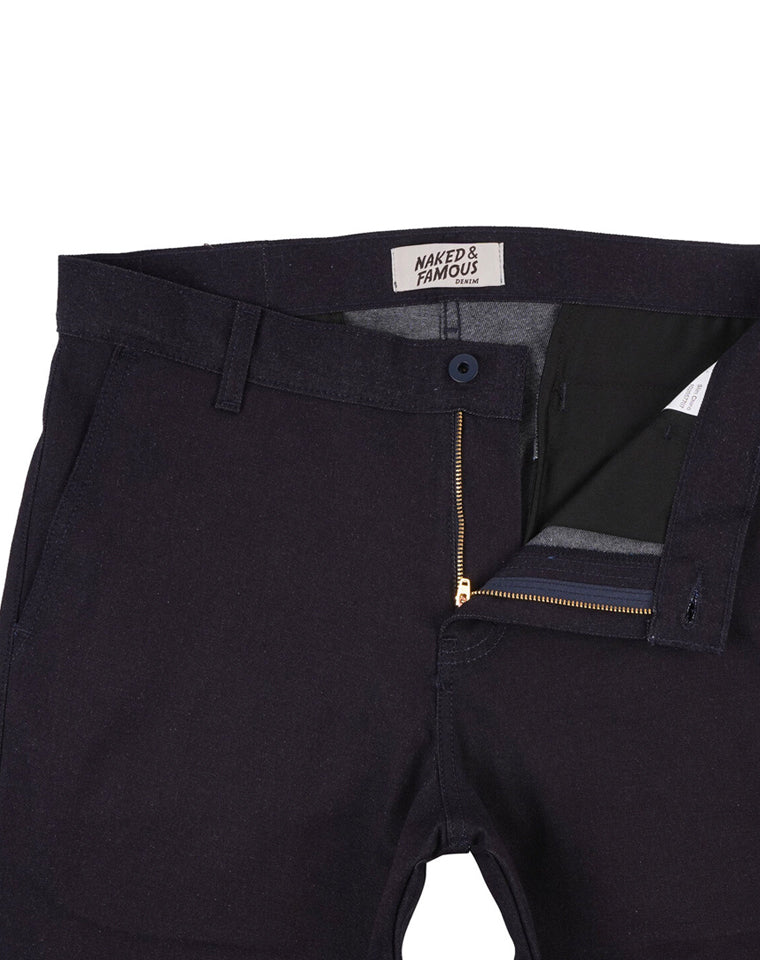 Slim Chino in Pure Indigo Stretch | Naked & Famous