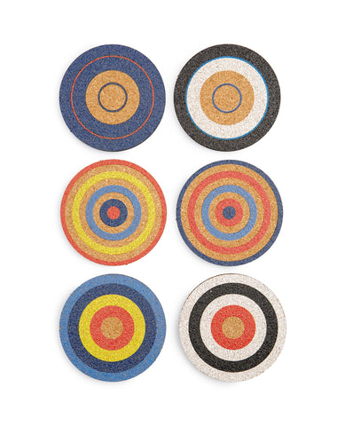 Bullseye Coaster Set | Fredericks & Mae