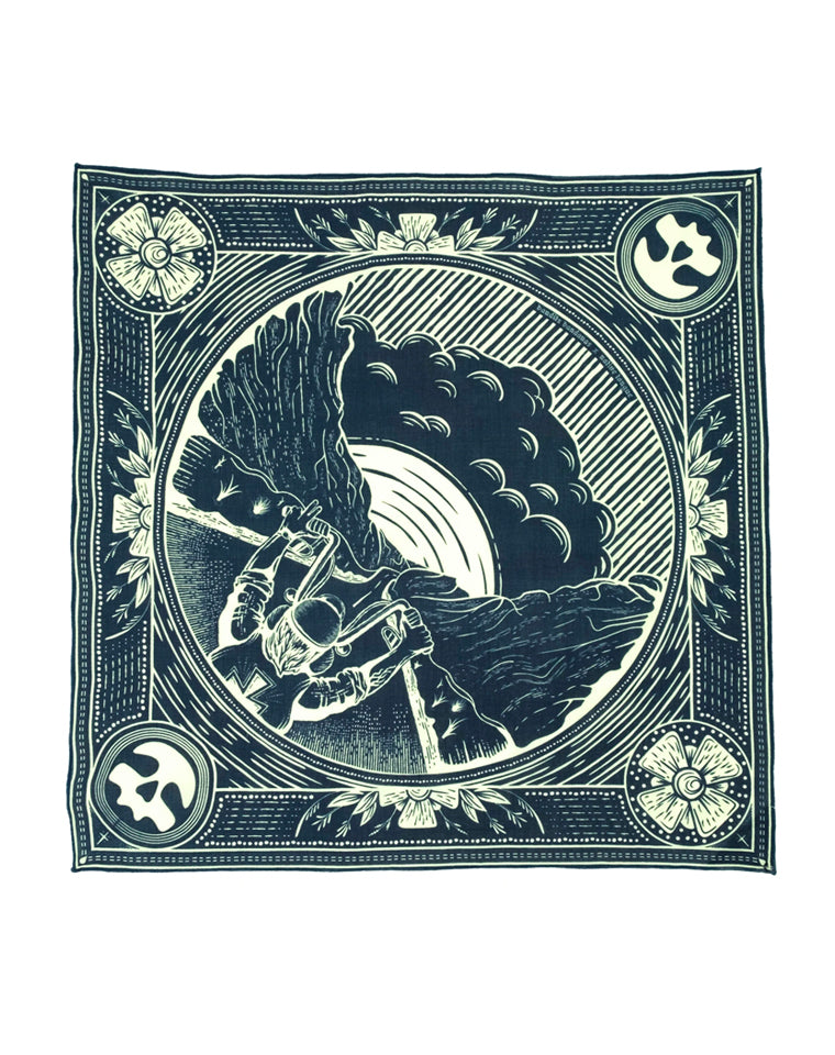 "Bandits Bandana | ""Destination: Nowhere"" by Brad Gabbard"