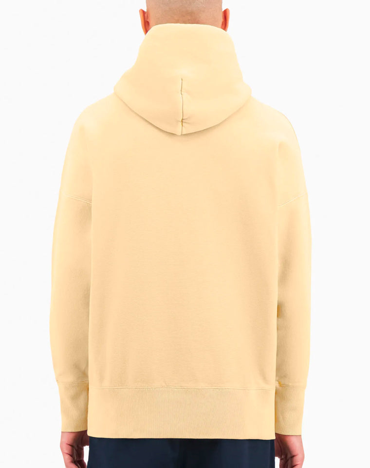 Drop Shoulder Reverse Weave Hoodie in Butter | Champion Europe