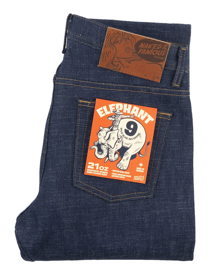 Elephant 9 Wild Blue - 21oz. / Weird Guy | Naked & Famous
