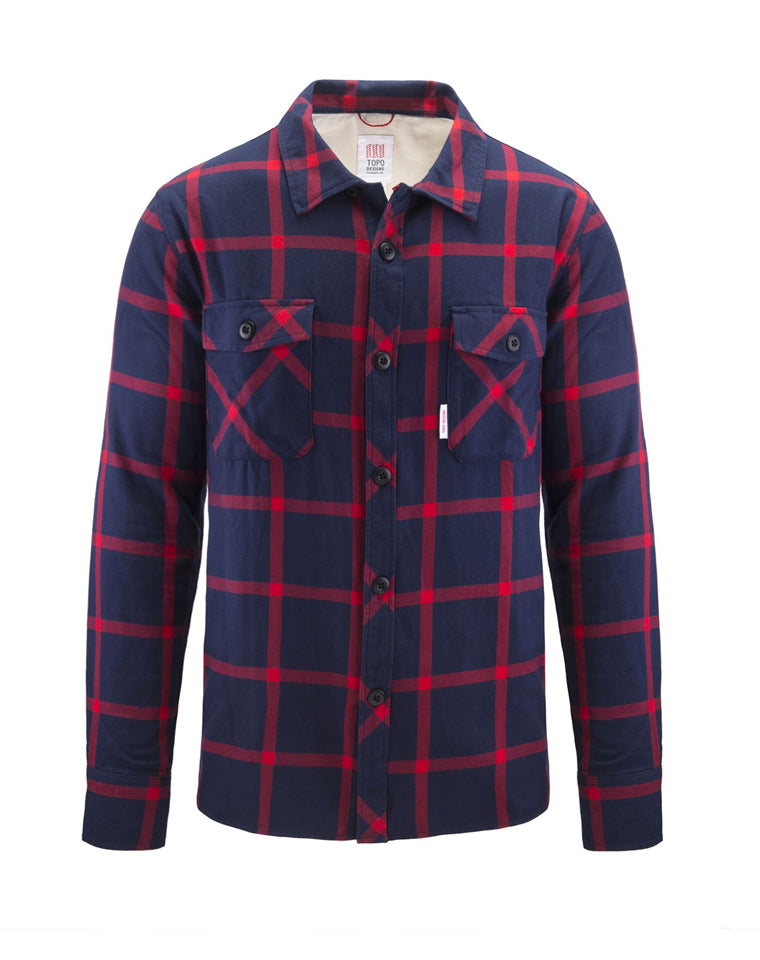 Field Shirt | Blue/Red Plaid | Topo Designs