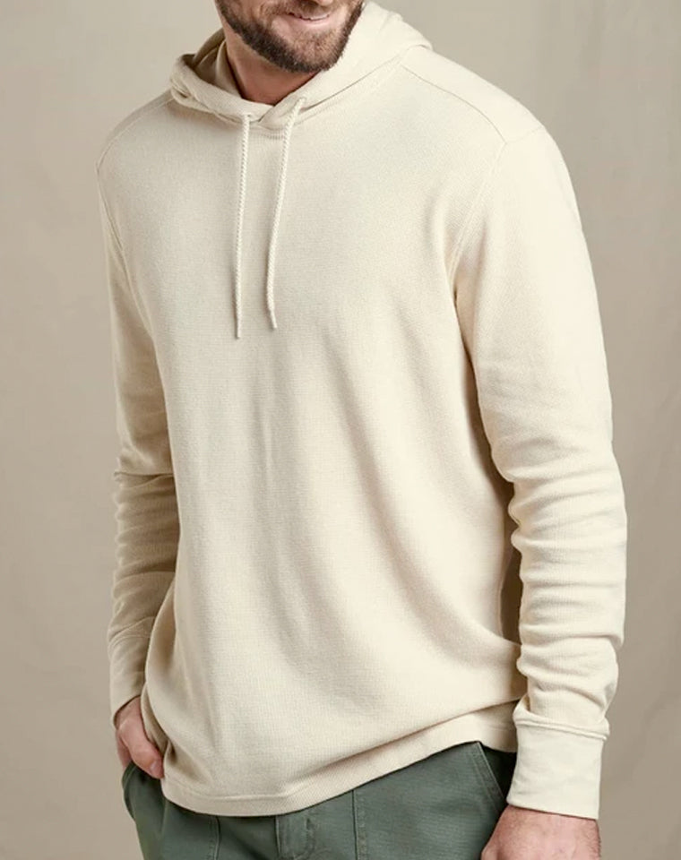 Waffle Hoodie in Oatmeal | Toad & Co.