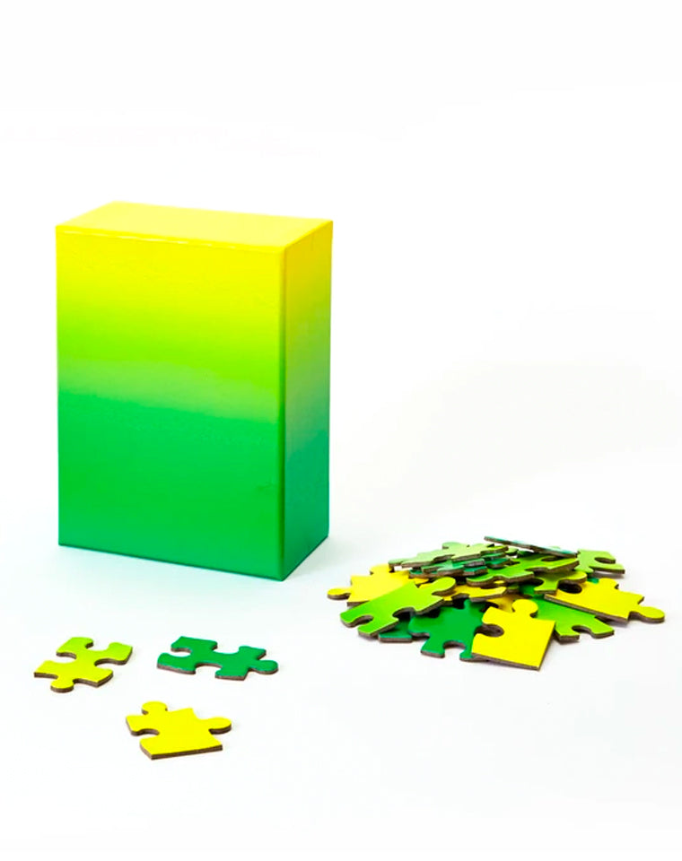 Gradient Puzzle | Green/Yellow | 100 pc.