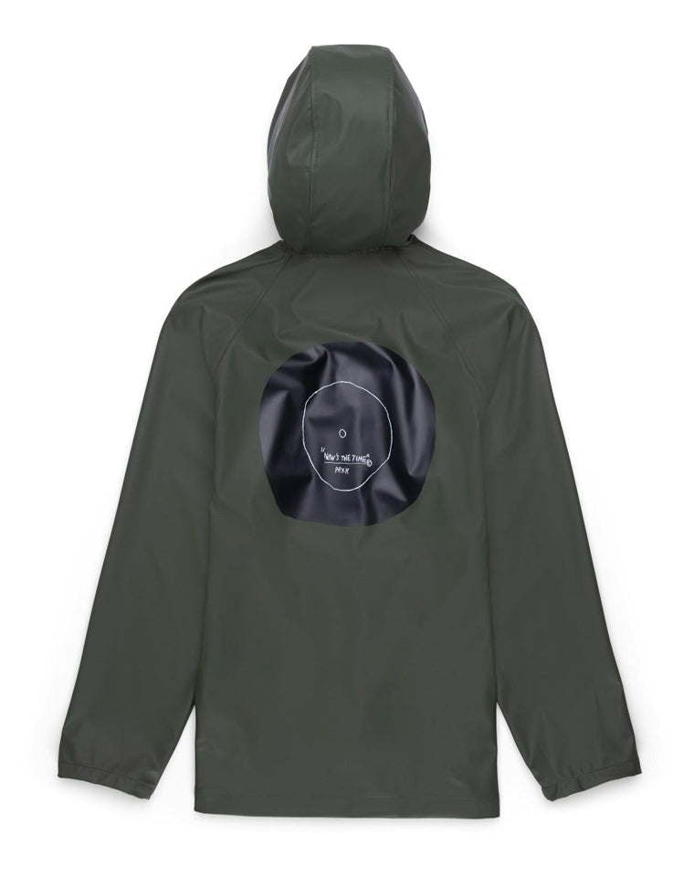 Basquiat Classic Raincoat - Olive | Herschel Supply