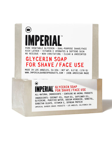 Glycerin Shave / Face Soap Bar