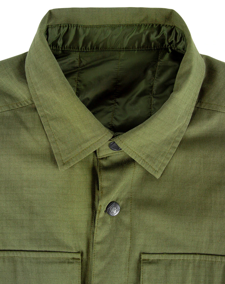 Insulated (reversible) Shirt Jacket in Navy | Topo Designs