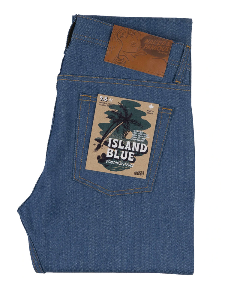 Island Blue Denim | Naked & Famous