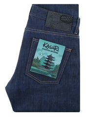 Kasuri Stretch Selvedge / Super Guy | Naked & Famous