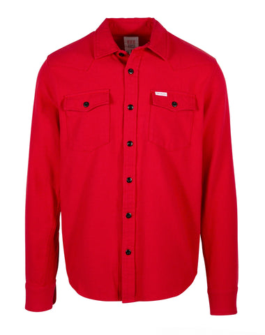 Mountain Shirt in Red | Topo Designs