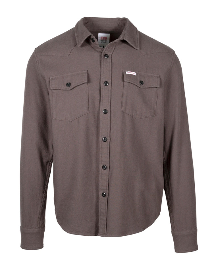 Mountain Shirt in Charcoal | Topo Designs