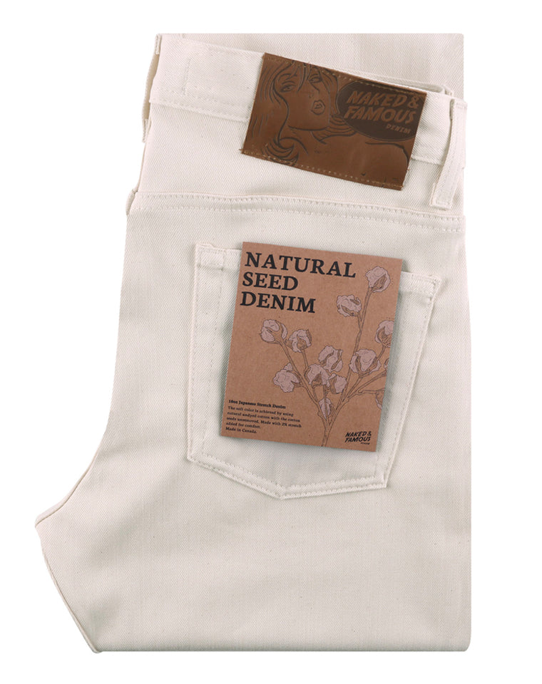 Natural Seed Denim | Naked & Famous