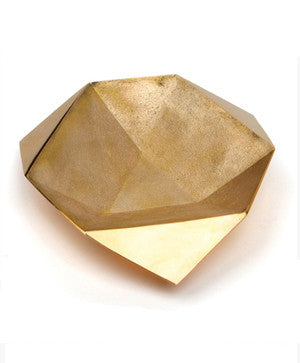 Origami Bowls in Brass