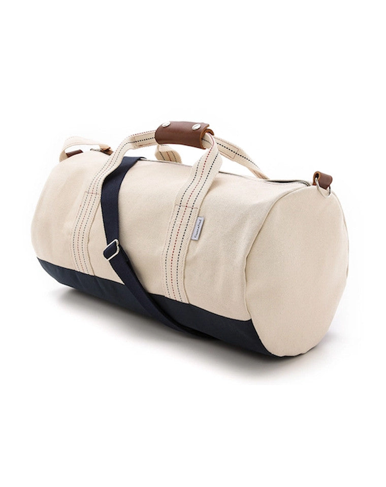 Canvas and Leather Duffel