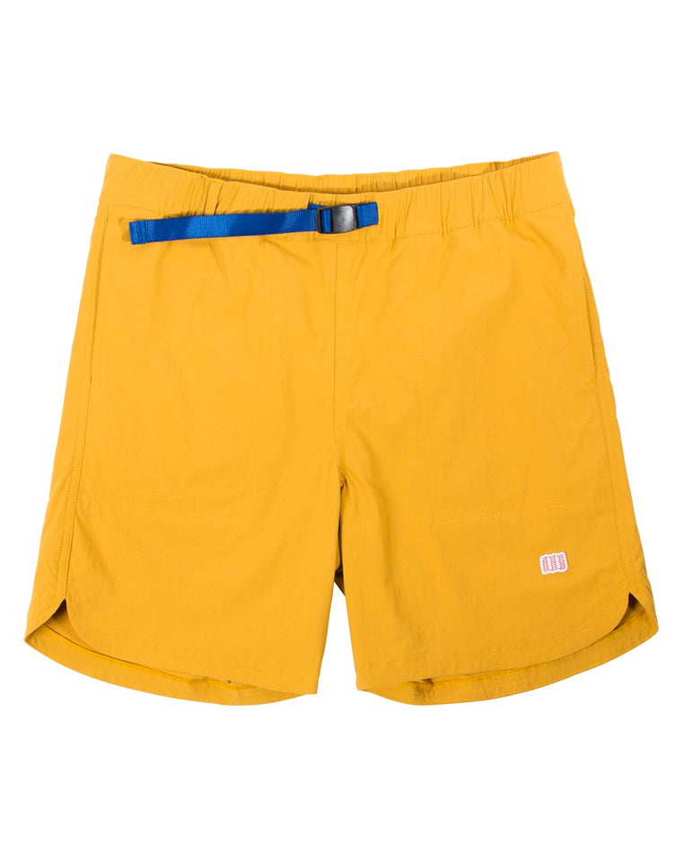 River Short in Mustard | Topo