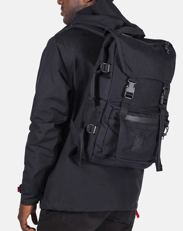 Rover Backpack TECH in Black | Topo Designs