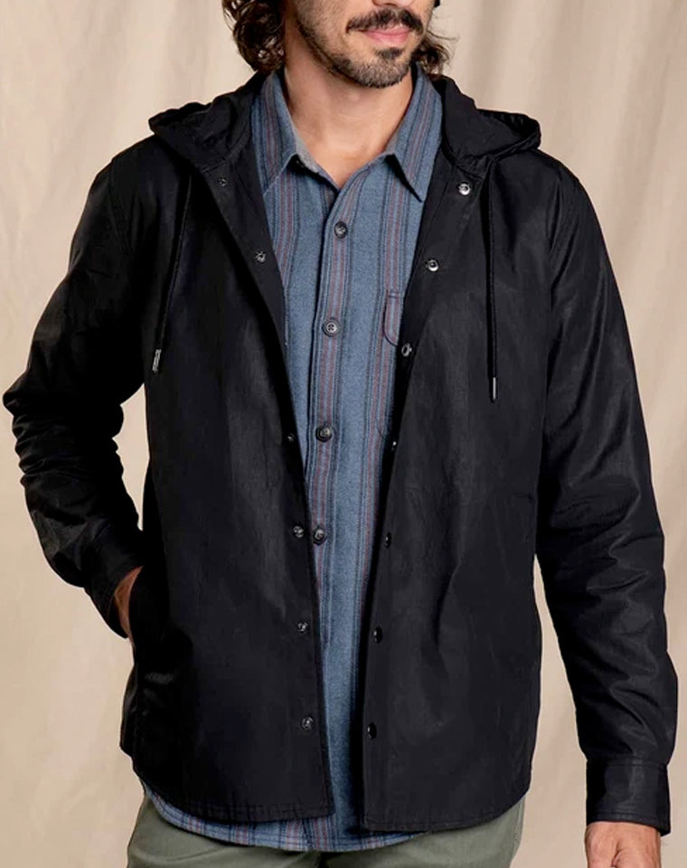 Mcway Hooded Shirt Jacket | Toad & Co.