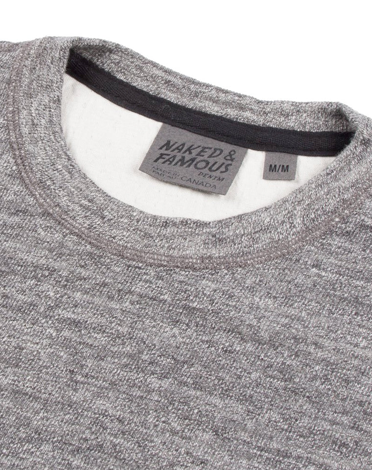 Slim Crew in Grey | Naked & Famous