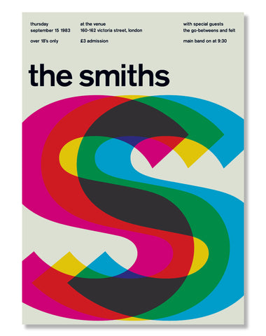 Gig Poster / The Smiths