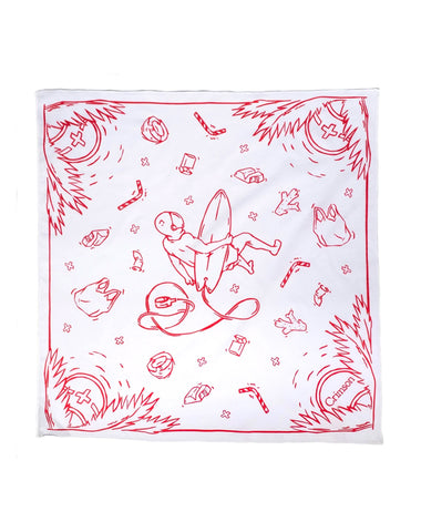 "Bandits Bandana | ""Space Waste"" by Crimson Goods"