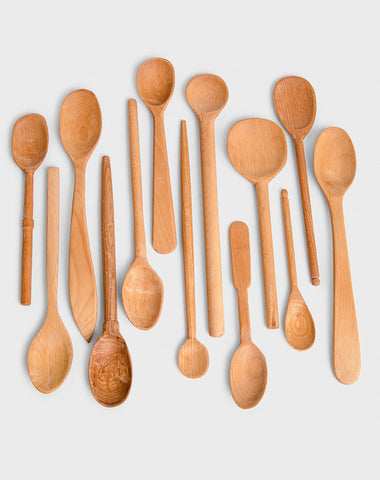 Hand Carved Beechwood Spoons