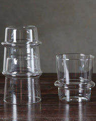 Stacking Whiskey Glasses