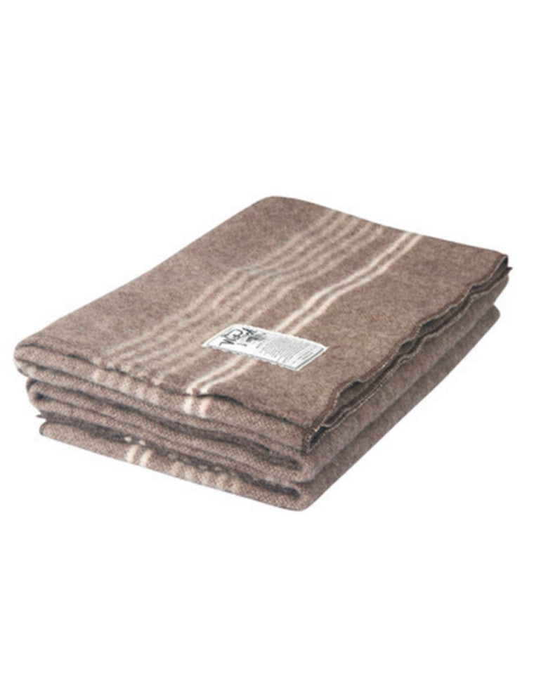 Eco-Rich™ Suffolk Stripe 100% Wool Blanket | Woolrich