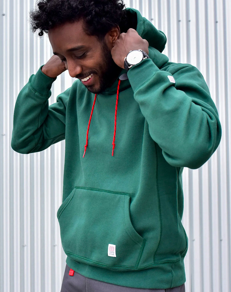 Classic Hoodie in Teal | Topo Designs