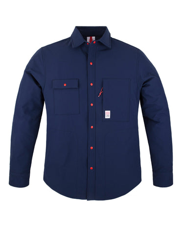 Breaker Shirt Jacket - Blue | Topo Designs