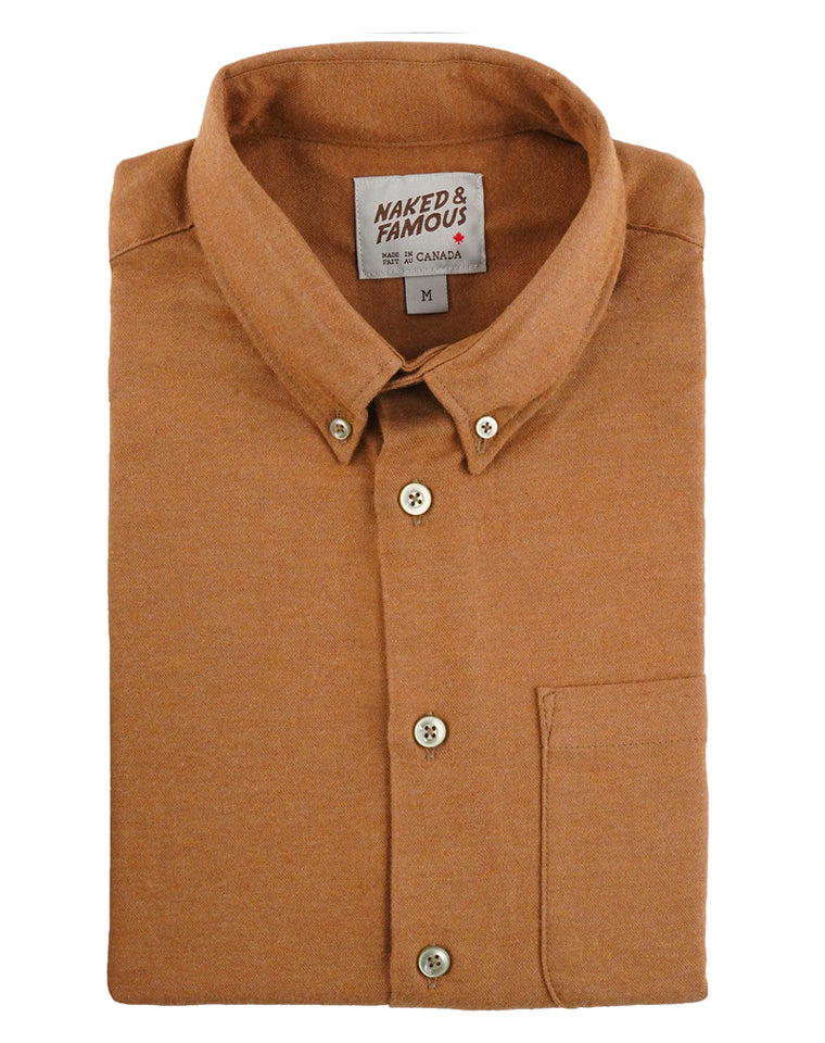 Soft Twill Oxford in Dijon | Naked & Famous