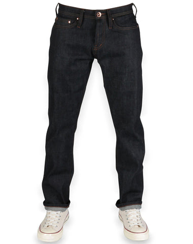 Tapered Fit 11oz. Selvedge Stretch Denim | Unbranded Brand