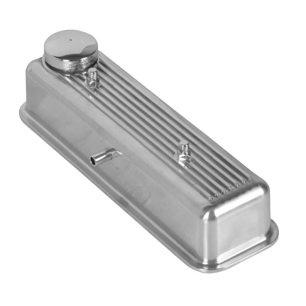 spitfire-224-550 Alloy Ribbed Valve Cover Polished