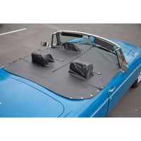 tr6-tch1207 Tonneau Cover With Headrest Pockets