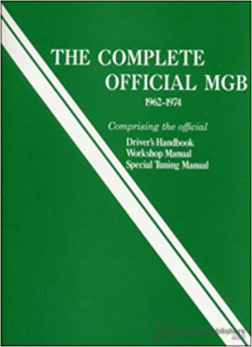 mgb-x115 The Complete Official MGB 1962-1974