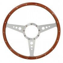 "Midget-tsw001-14 Tourist Trophy Steering Wheel 14"" Wood"
