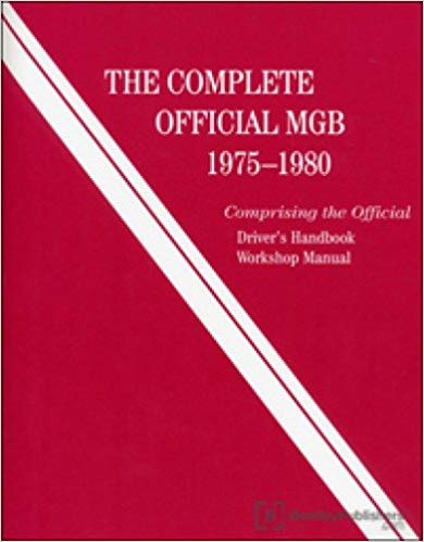mgb-x112 The Complete Official MGB 1975-1980