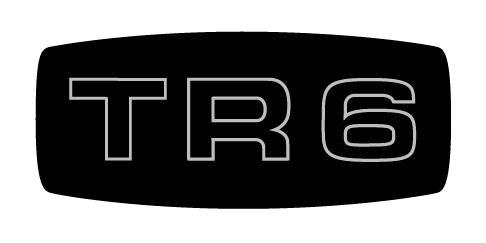 tr6-zkc1224l Grille Emblem Decal Only