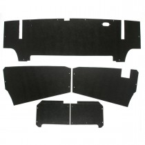 tr6-TTK1 5 Piece Trunk Liner Kit