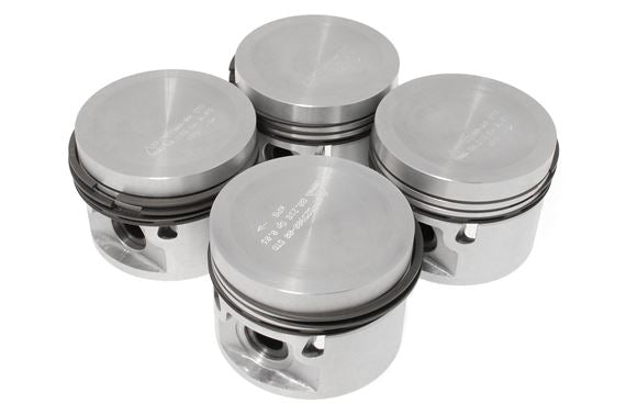 mgb-ry2694 Piston Set 1974-1980 Size available STD 010,020,030