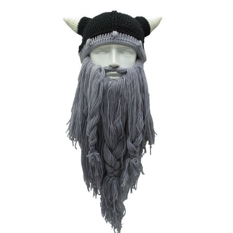 Bonnet à barbe de vikings
