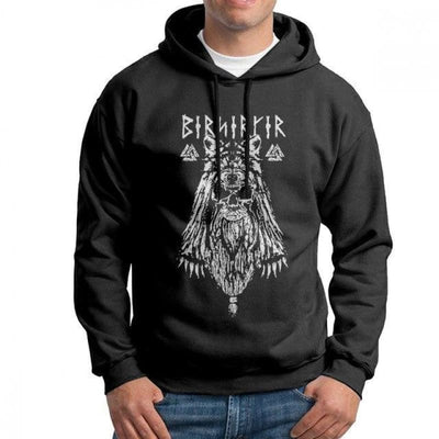 Sweat-Shirt Viking - Berserker - Noir / L - sweat viking