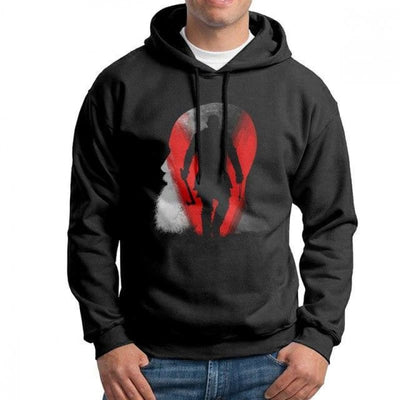Sweat-Shirt vikings Ragnar - Noir / M - sweat viking