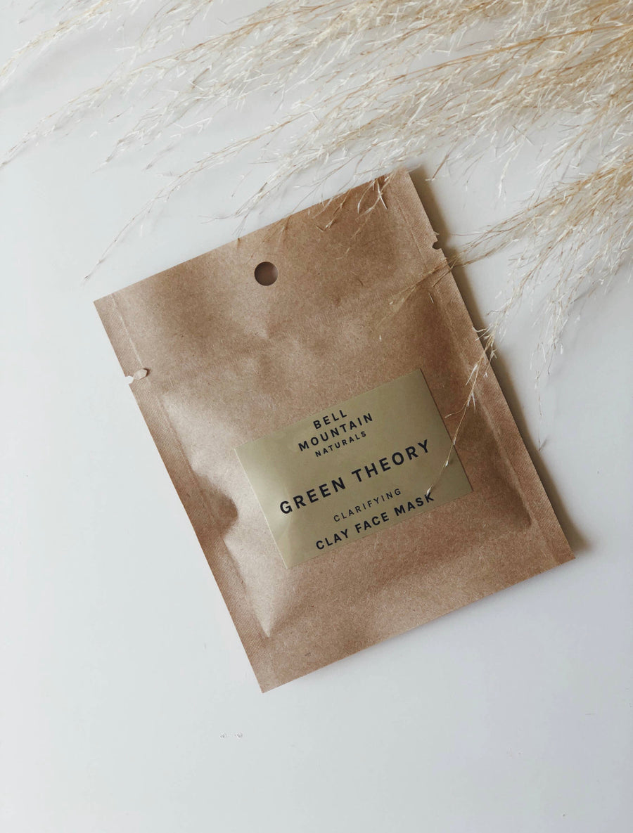 Bell Mountain Naturals Green Theory Face Mask