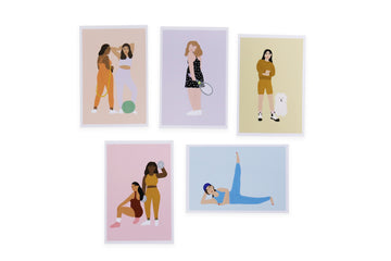 Ladies of Athleisure Print Set