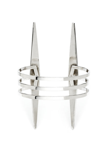 CENTURIUM CUFF SILVER , Cuff - PEOPLE ARE STRANGE, PEOPLE ARE STRANGE  - 4