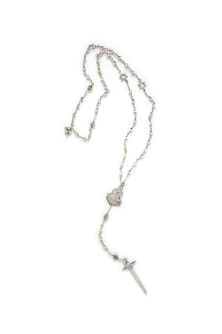FUTURE SONG ROSARY SILVER , Necklace - PEOPLE ARE STRANGE, PEOPLE ARE STRANGE  - 1