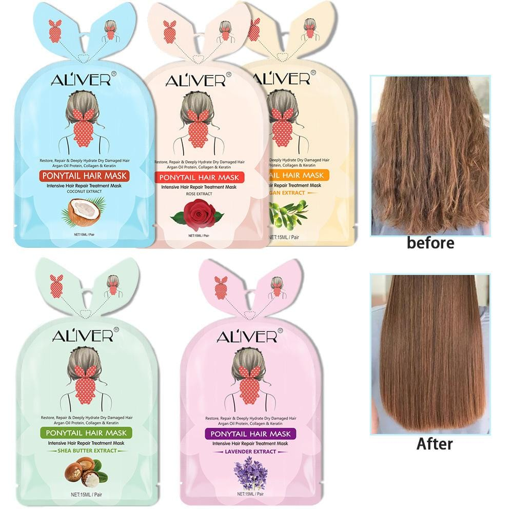 ALIVER Ponytail  Hair Mask ( Minimum Purchase Quantity: 3 )