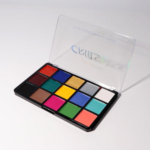 UCANBE 15 Colors Face & Body Paints Palette