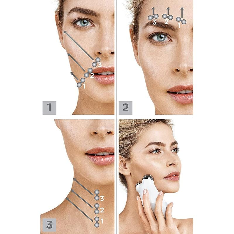 USB microcurrent Massager face lift skin care tools Skin Tightening lifting facial wrinkle remover toning Beauty Massage machine